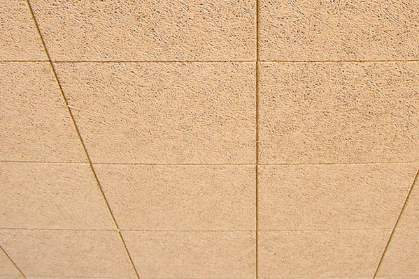 Knauf Organic techo desmontable de viruta de madera